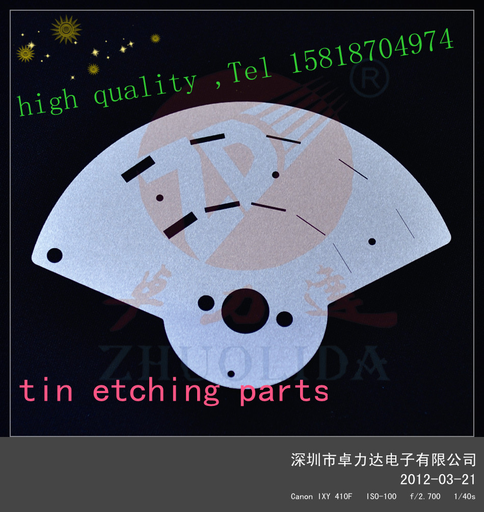 high quality photo etching shim